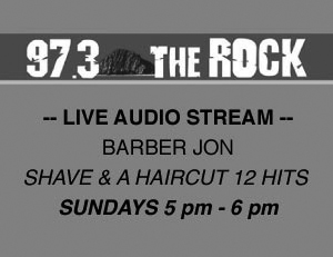 Morro Bay Radio Station 97.3 The Rock, Shave and a Haircut 12 Hits, Sundays 5pm - 6pm, Live Stream Link